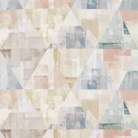 Geodesic Fabric - Blush/Taupe/Seaglass