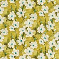 Giverney Fabric - Linden/Turquoise