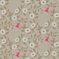 Sephora Fabric - Dove/Fuchsia