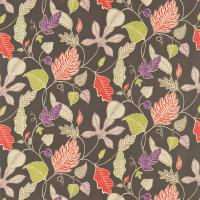 Flavia Fabric - City Grey/Neutral/Damson/Lime