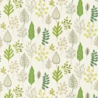 Zosa Fabric - Chalk/Stone/Leaf
