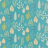 Zosa Fabric - Ocean/Neutral/Lemon
