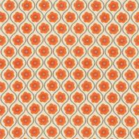 Sira Fabric - Orange/Zest/Neutral