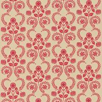 Lucerne Fabric - Wine/Oatmeal
