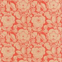 Verena Fabric - Firecracker/Oatmeal