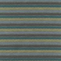 Chevron Fabric - Teal/Citrus/Ice/Charcoal