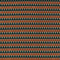 Tessalate Fabric - Tangerine/Teal/Taupe