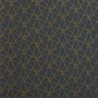 Zola Fabric - Charcoal/Gold