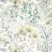 Postelia Fabric - Emerald / Lime