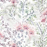 Postelia Fabric - Berry / Heather