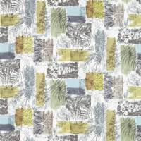 Caldesia Fabric - Graphite / Mustard