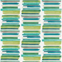 Calcine Fabric - Emerald / Zest / Marine