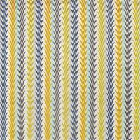 Velika Fabric - Sienna / Citrus / Ink