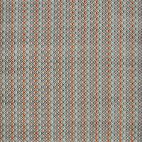 Boka Velvet Fabric - Heather / Russet / Sky