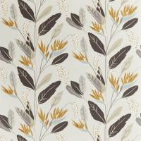 Llenya Fabric - Honey / Jet / Jute