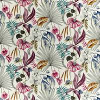 Habanera Fabric - Cerise / Honey / Marine