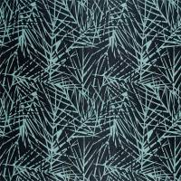 Lorenza Fabric - Ink / Seaglass