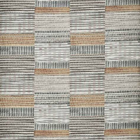 Harlequin Mirador Weaves Benirras Fabric - Slate / Stone / Honey - 120917