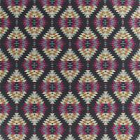 Elwana Fabric - Cerise / Honey / Marine