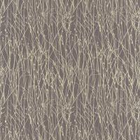 Grasses Fabric - Zinc/Pewter