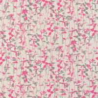 Nettles Fabric - Natural/Neon/Zinc