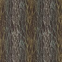 Grasses Fabric - Peat/Duckegg/Olive
