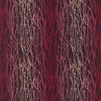 Grasses Fabric - Grape/Hot Pink/Fuchsia