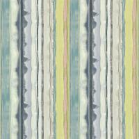 Demeter Stripe Fabric - Indigo/Ocean/Soft Lime