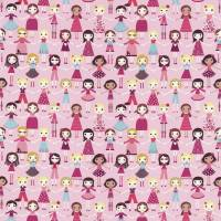 Best of Friends Fabric - Pink Multi