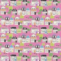 Boutique Boulevard Fabric - Pink Multi