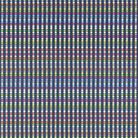 Abacus Fabric - Navy Multi