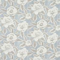 Floria Fabric - Powder Blue/Linen