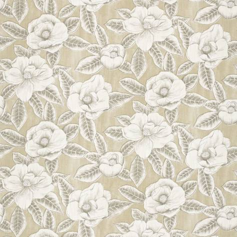 Harlequin Poetica Fabrics  Floria Fabric - Sand/Charcoal - 120245