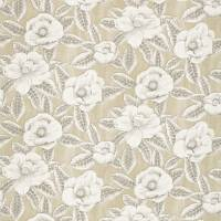 Floria Fabric - Sand/Charcoal