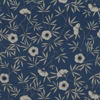 Apella Fabric - Ink Blue/Linen