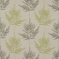 Folium Fabric - Pistachio/Chocolate