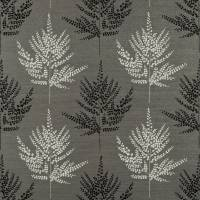 Folium Fabric - Charcoal/Chalk