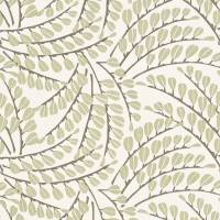 Anais Fabric - Sage/Pewter