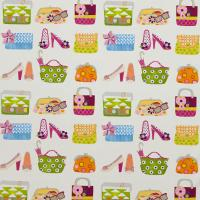 Pick and Mix Fabric - Fuchsia/Tangerine/Apple/Sparkle/Natural