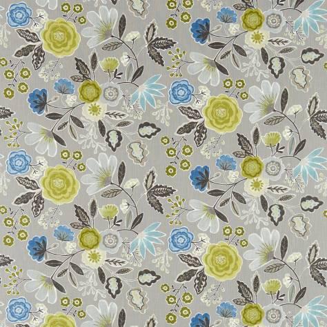 Caspia fabric slate seagrass 120264 harlequin jardin for Decoration jardin boheme