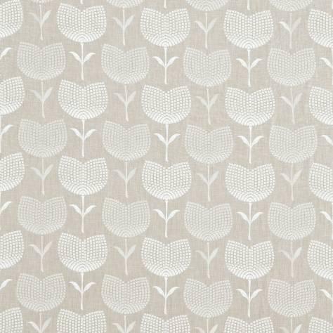 Lolita fabric heather chalk 131073 harlequin jardin for Decoration jardin boheme