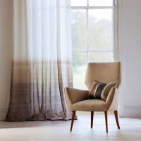 Tranquil Fabric - Pebble/Hessian