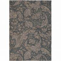 William Morris & Co Bachelors Button Rug 28205 Charcoal (Select Size)