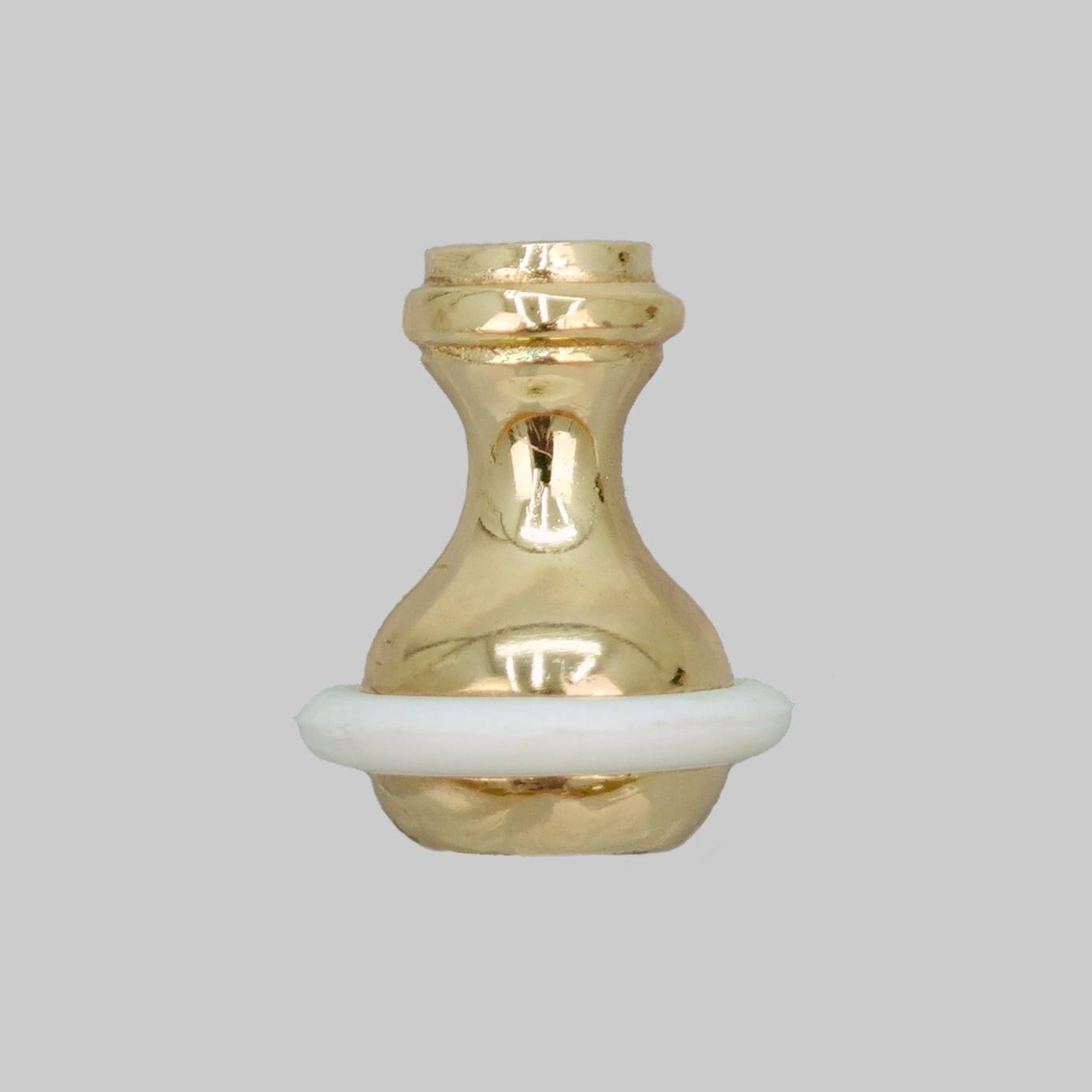 Roman Blind Weighted Toggle Cord Pull Polished Brass