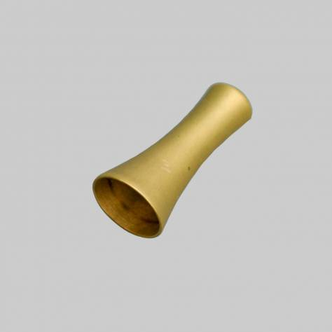 Roman Blind Weighted Cone Toggle / Cord Pull - Matt Brass - Image 1