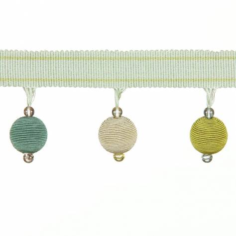 Harlequin Barletta Bobble Trim 150035 Seafoam & Willow - Image 1