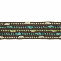 Harlequin Eleni Braid Trim 150055 Walnut & Pistachio