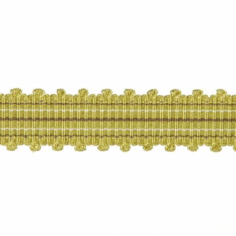 Harlequin Picot Braid Trim 150060 Amethyst & Chartreuse - Image 1