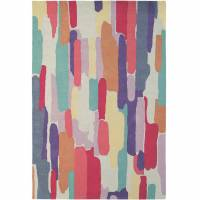 Harlequin Trattino Rug 150885 Berry (Select Size)