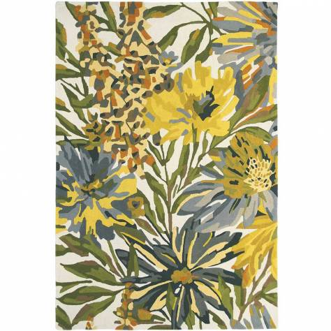 Harlequin Floreale Rug 150893 Maize (Select Size) - Image 1